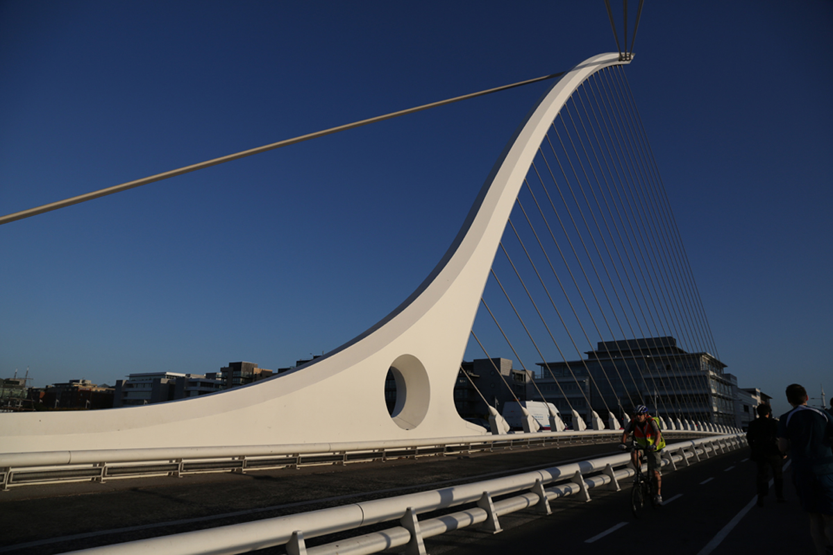 Santiago Calatrava's 2nd Dublin bridge