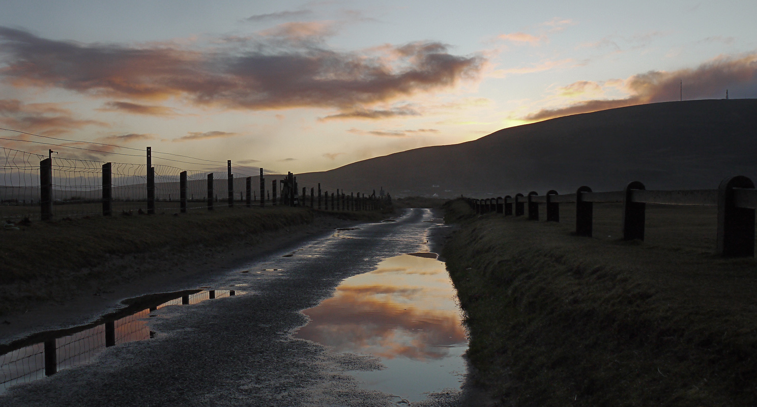 Morning after the rain on Achill Island